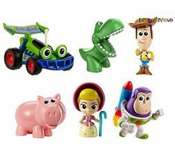 Disney and Pixar Toy Story Mini Andy's Toy Chest 6-Pack Clas