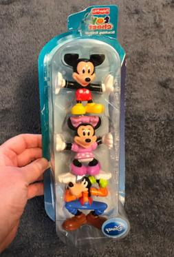 Disney Fisher Price Mickey Minnie Mouse Goofy Stacking Frien
