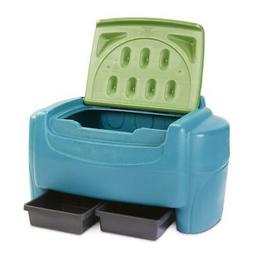 Little Tikes Go Green! Toy Chest with drawers for kids 1.5 t