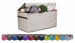 JUMBO SIZE Toy Storage Organizer Chest for Kids & Living Roo