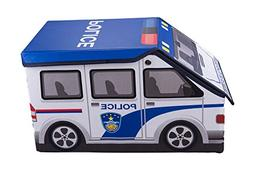 Kids Police Car Collapsible Toy Storage Organizer by Clever