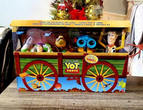 new toy story andys toy chest retro