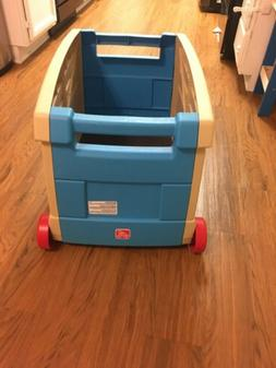Step2 Lift Roll Toy Box-Kids Storage Chest-Kids Toy Box With
