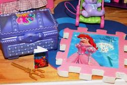 Disney Little Mermaid Toy Chest with Accessories Cake Decora