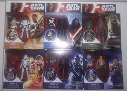 """Star Wars The Force Awakens Action Figures - Up 3.75"""""""