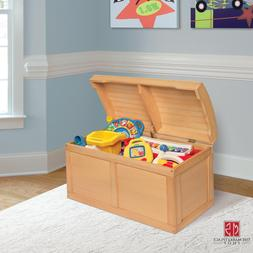 Toy Box Chest Kids Treasure Toybox Wooden Safe Closure Made