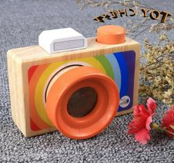 TOY CHEST Educational Toys Simulation Wooden Camera Cute Han
