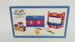 MUFFY Vanderbear Play Date Toy Collection Toy Chest/Toy Pupp