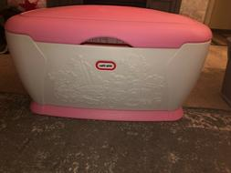 Vintage LITTLE TIKES GIANT TOY CHEST BOX Pink PICK UP ONLY!!